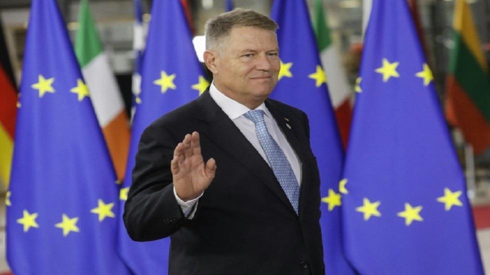 الرئيس المنتهية ولايته والموالي لأوروبا كلاوس يوهانيس