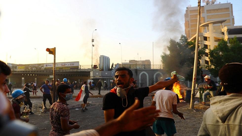 مراسلنا: تجدد الاحتجاجات في بغداد ومحافظات جنوبية