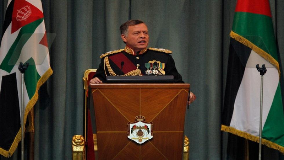 العاهل الأردني يعلن عودة الباقورة والغمر إلى سيادة المملكة الهاشمية