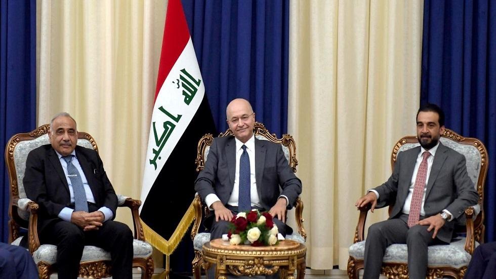 الرئاسات الثلاث في العراق والقضاء: نرفض الحلول الأمنية للتظاهرات السلمية