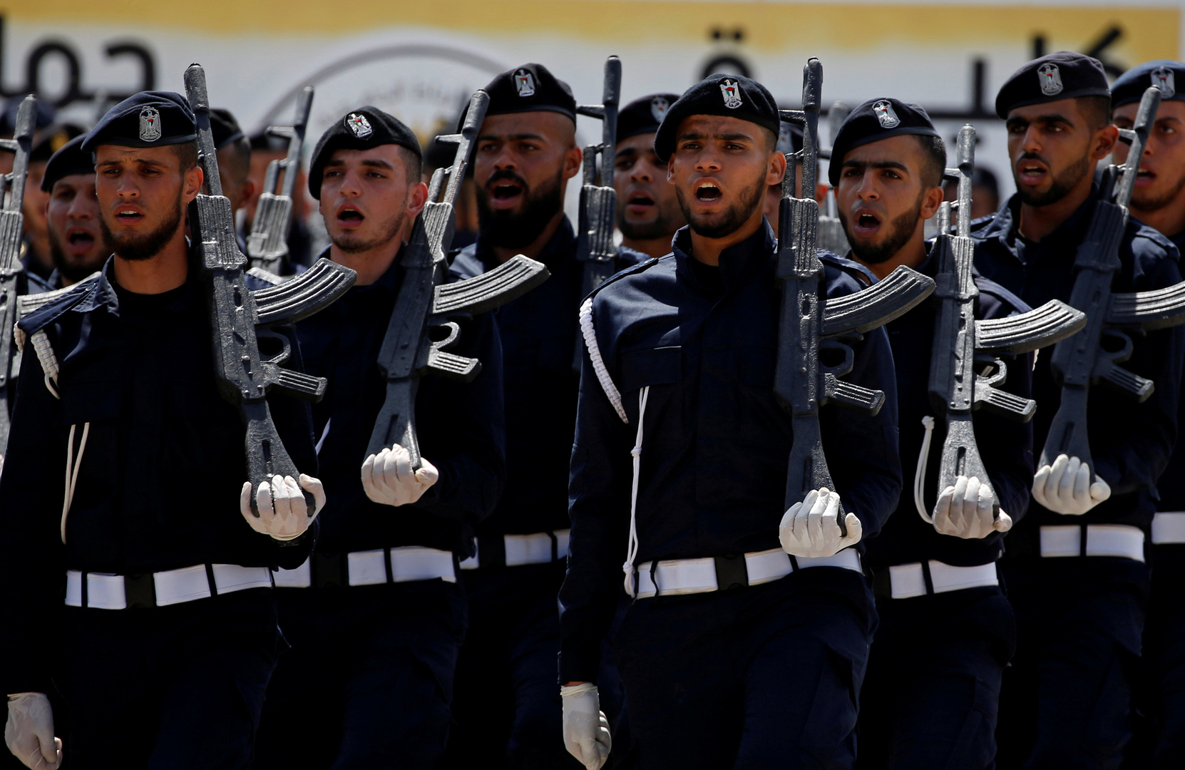 الشرطة الفلسطينية في قطاع غزة