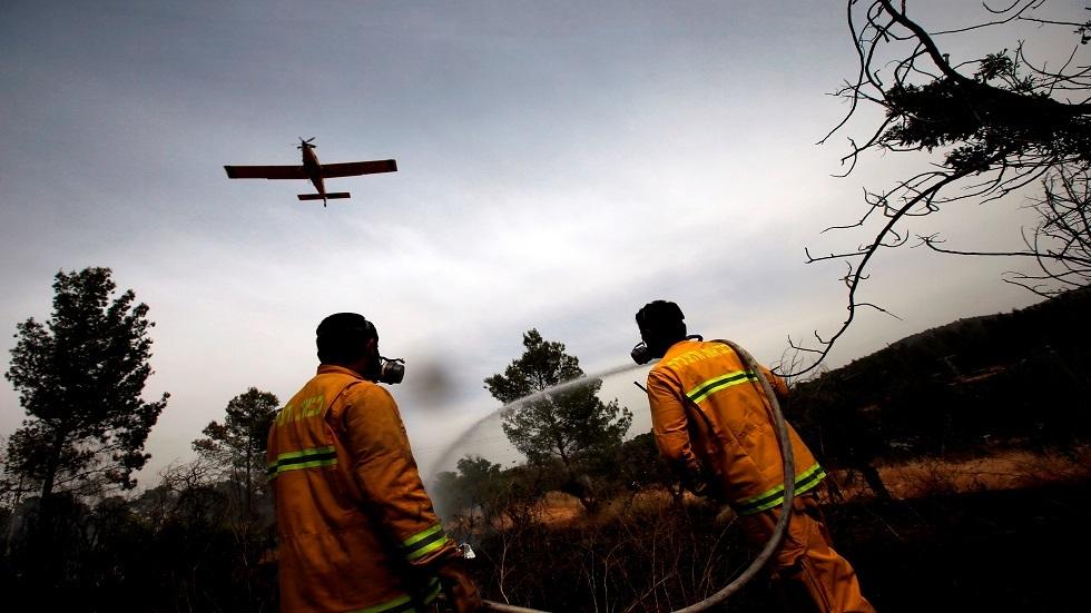 عشرات فرق الإطفاء وطائرات إسرائيلية تحاول إخماد حريق هائل قرب القدس