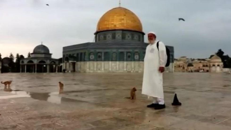 الحاج الفلسطيني غسان يونس