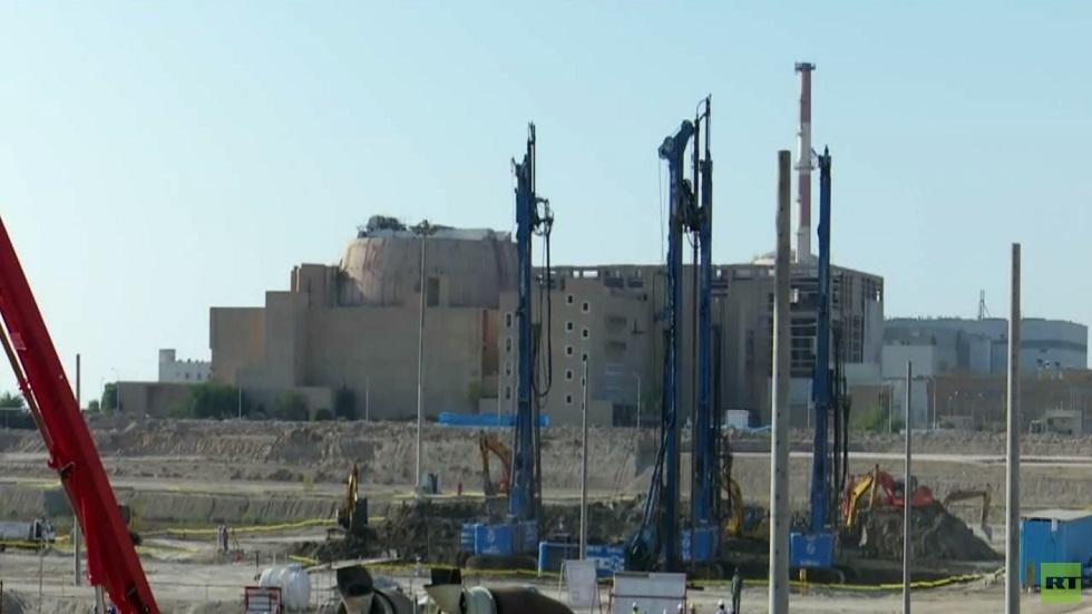 طهران تبدأ ببناء مفاعل ثان بمحطة بوشهر