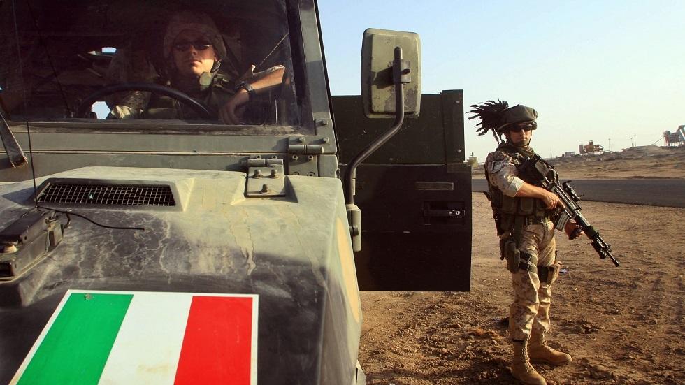 القوات الإيطالية في العراق - أرشيف