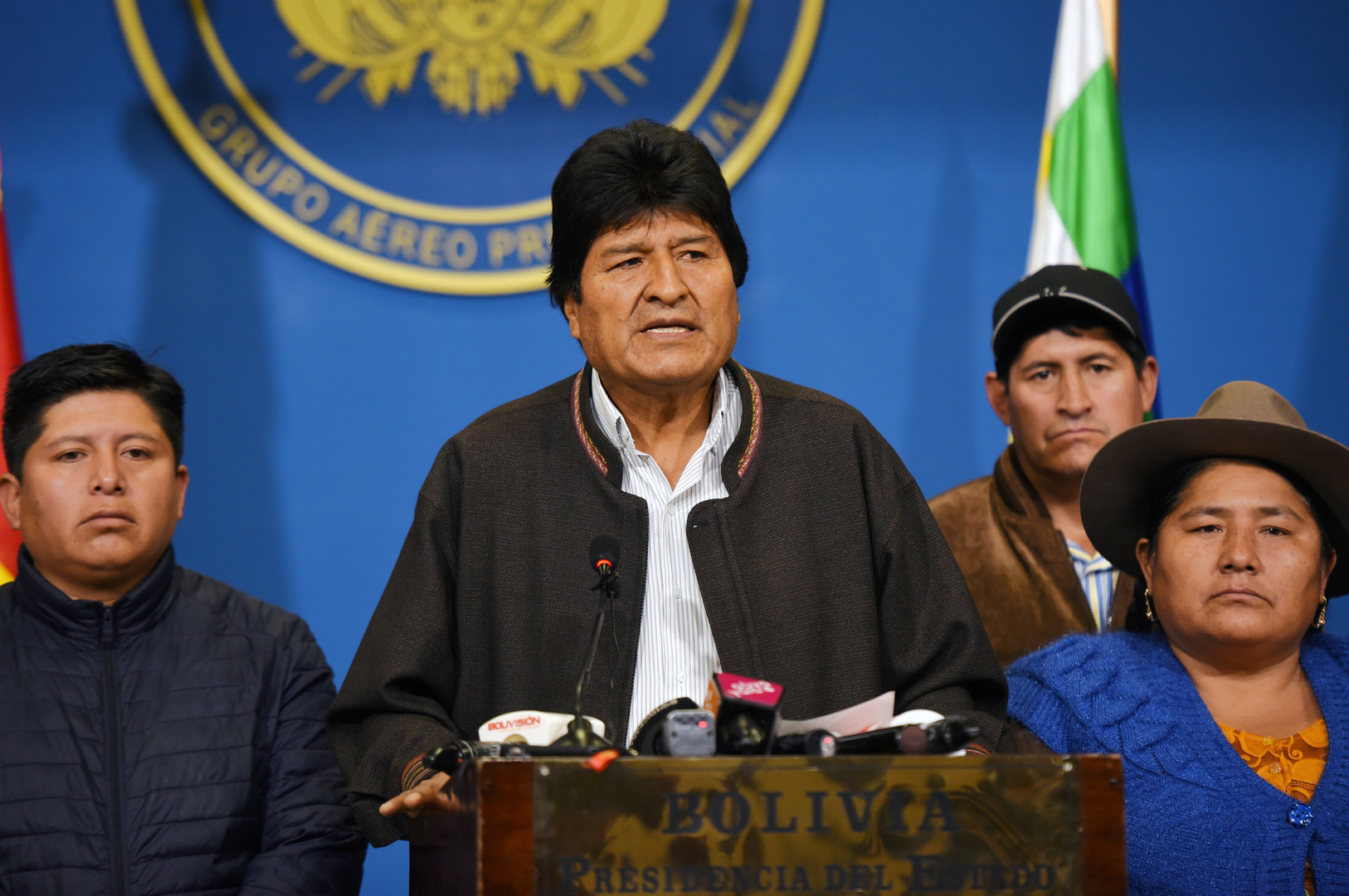 الرئيس البوليفي إيفو موراليس يعلن الاستقالة من منصبه