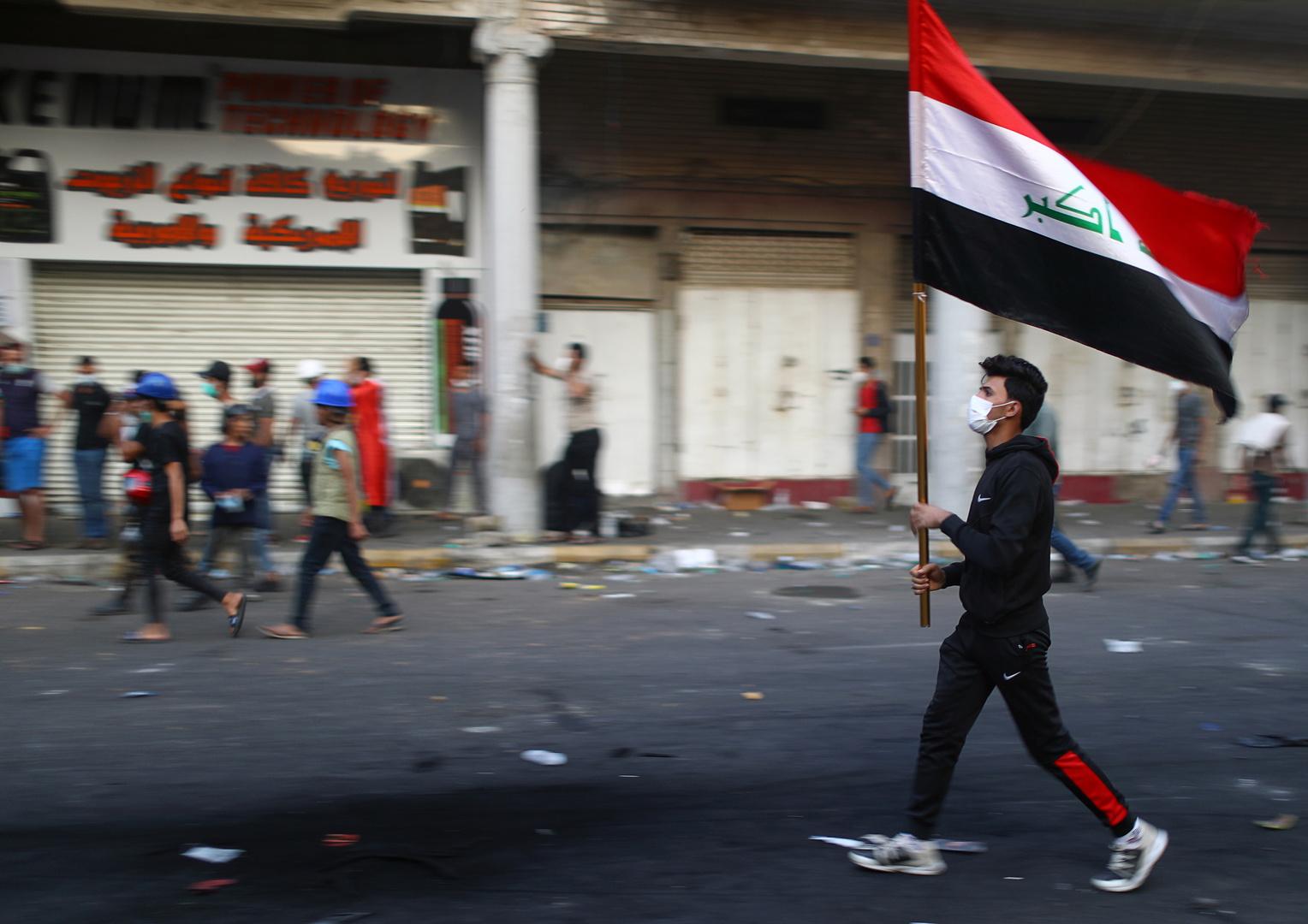 العراق.. مقتل 4 متظاهرين وإصابة 130 في ذي قار