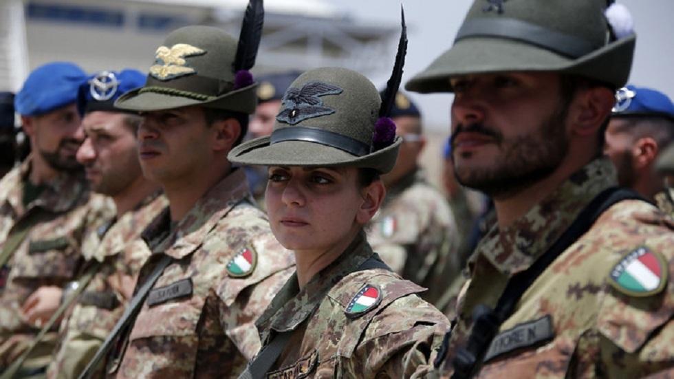 قوات إيطالية (صورة أرشيفية)