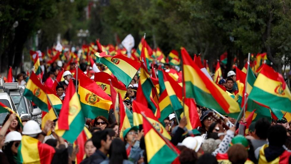 احتجاجات ضد الرئيس إيفو موراليس في بوليفيا