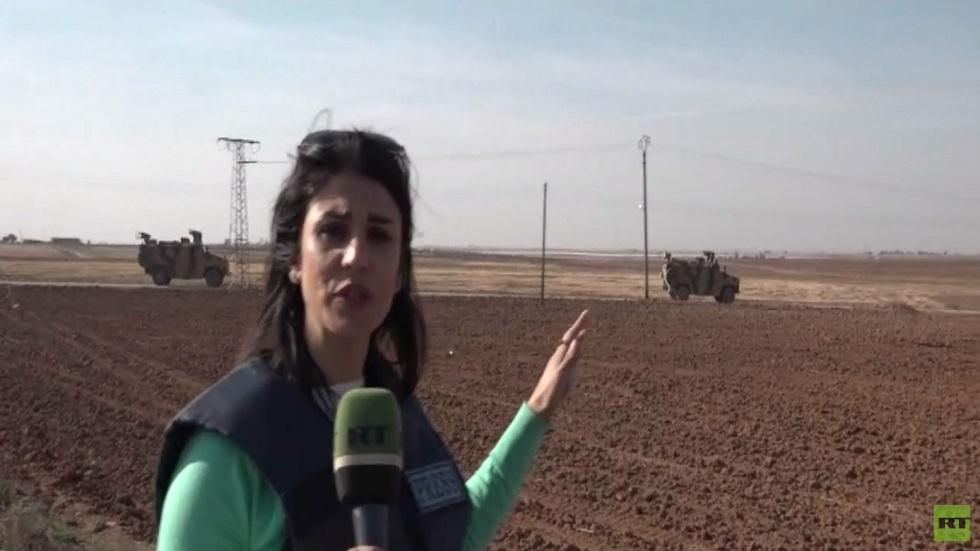 دورية روسية تركية على الحدود السورية