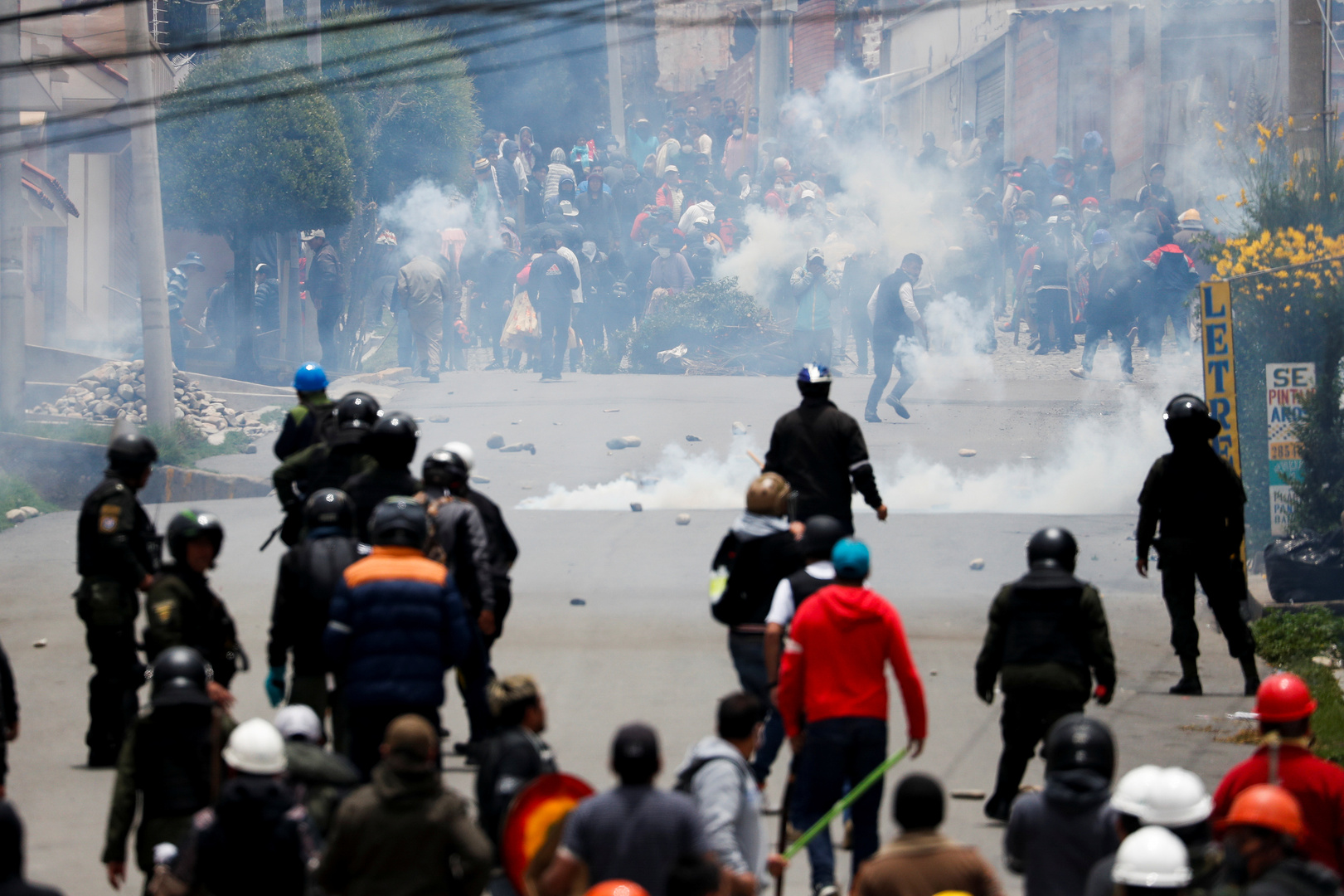 نتيجة بحث الصور عن واشنطن تحث المتظاهرين في بوليفيا على عدم مهاجمة ممثلياتها الدبلوماسية