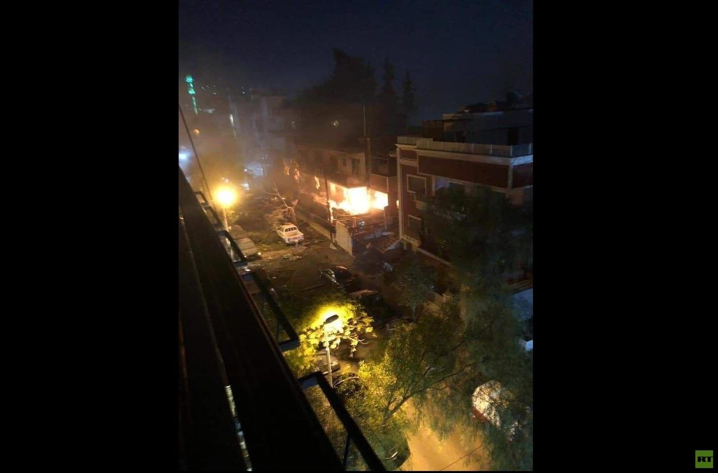 قتلى وجرحى بغارة إسرائيلية استهدفت مبنى مدنيا في دمشق