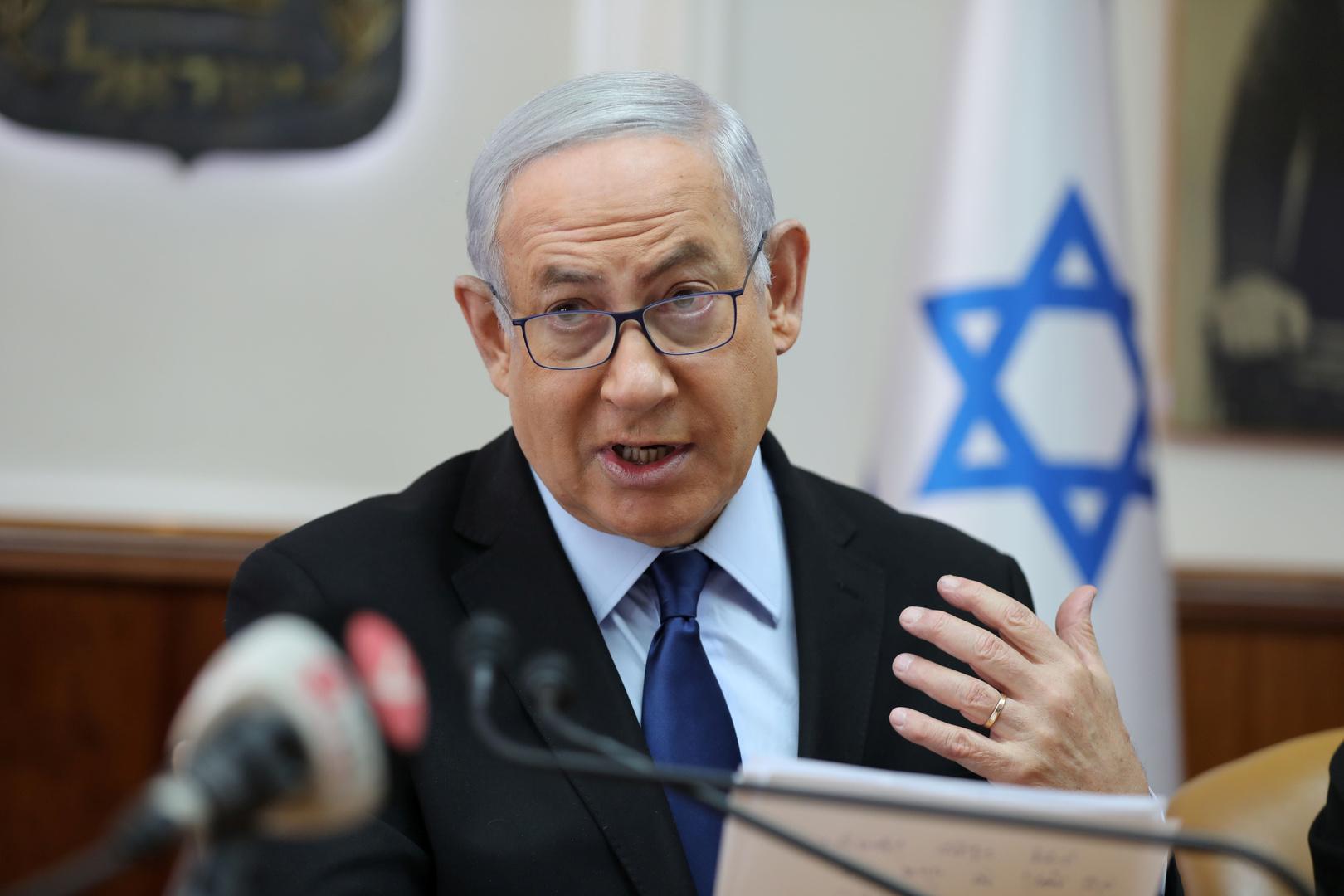 نتنياهو: عملية اغتيال أبو العطا تمت بموافقتي