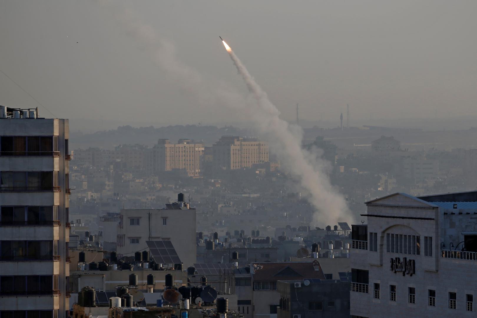 انطلاق صاروخ من قطاع غزة