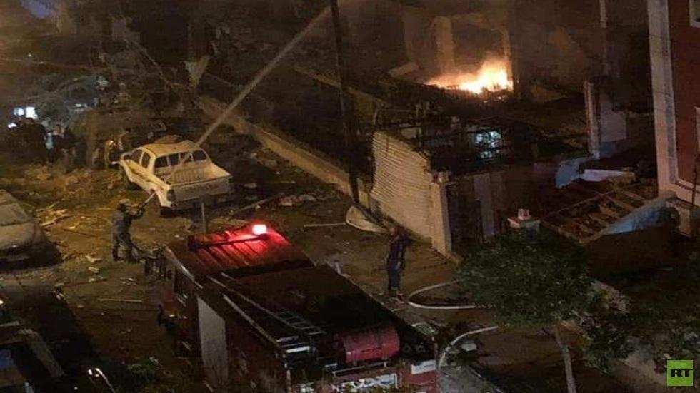 مصدر عسكري يكشف تفاصيل العدوان على دمشق