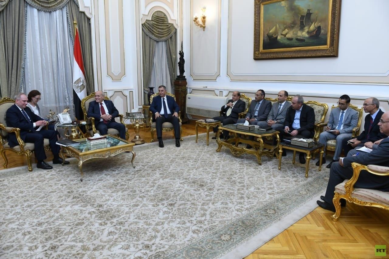 مباحثات تجارية روسية مصرية