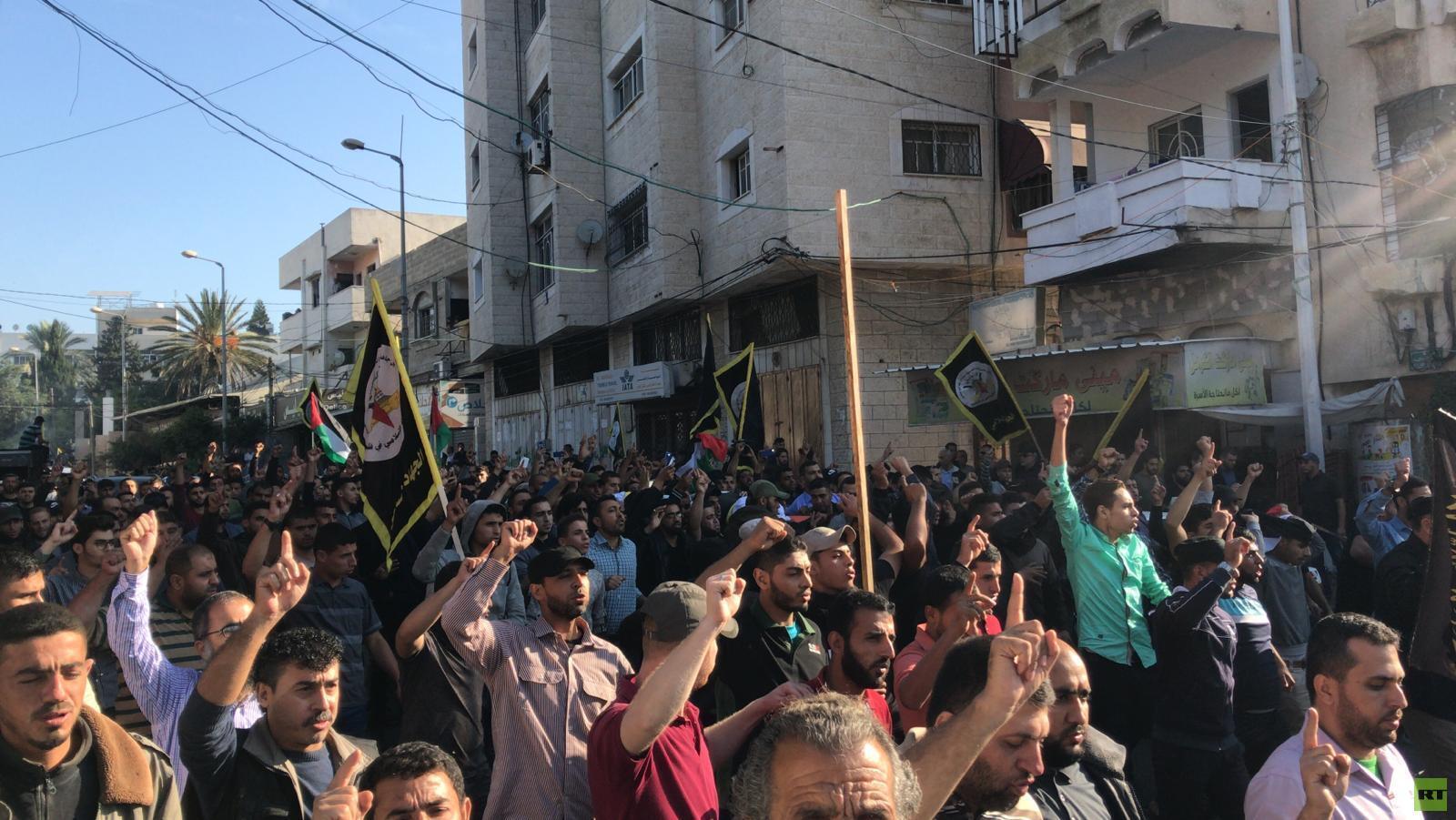 بالفيديو والصور.. تشييع أبو العطا في غزة
