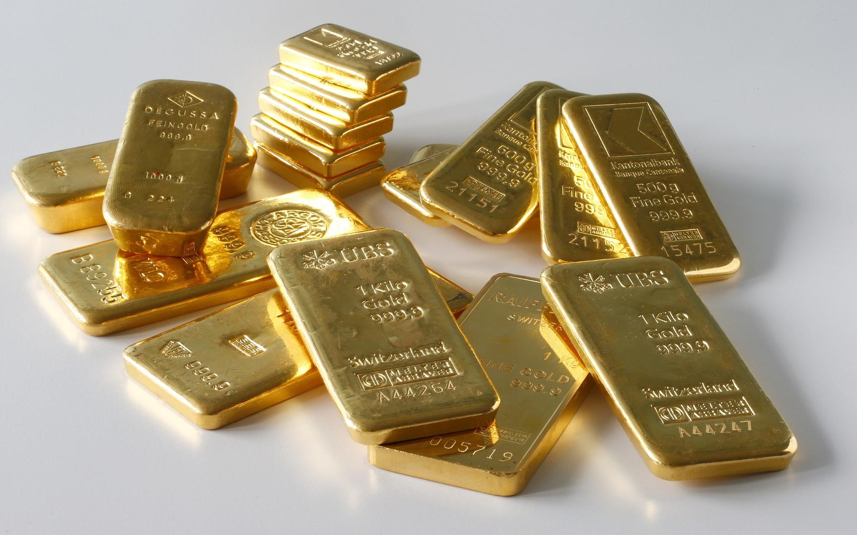 حصة الذهب في احتياطات الدول العربية