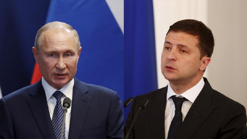 الكرملين يرحب بدعوة نزاربايف استضافة كازاخستان لقاء بوتين زيلينسكي