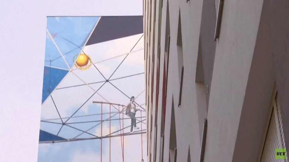 الغرافيتي وسيلة لتجميل المباني بألمانيا