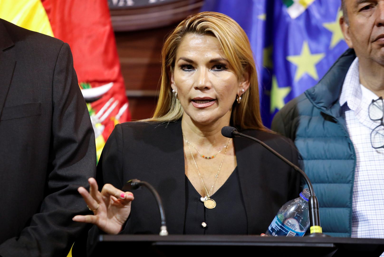 جانين آنيز تعلن نفسها رئيسة انتقالية لبوليفيا.. والمحكمة الدستورية تؤيدها