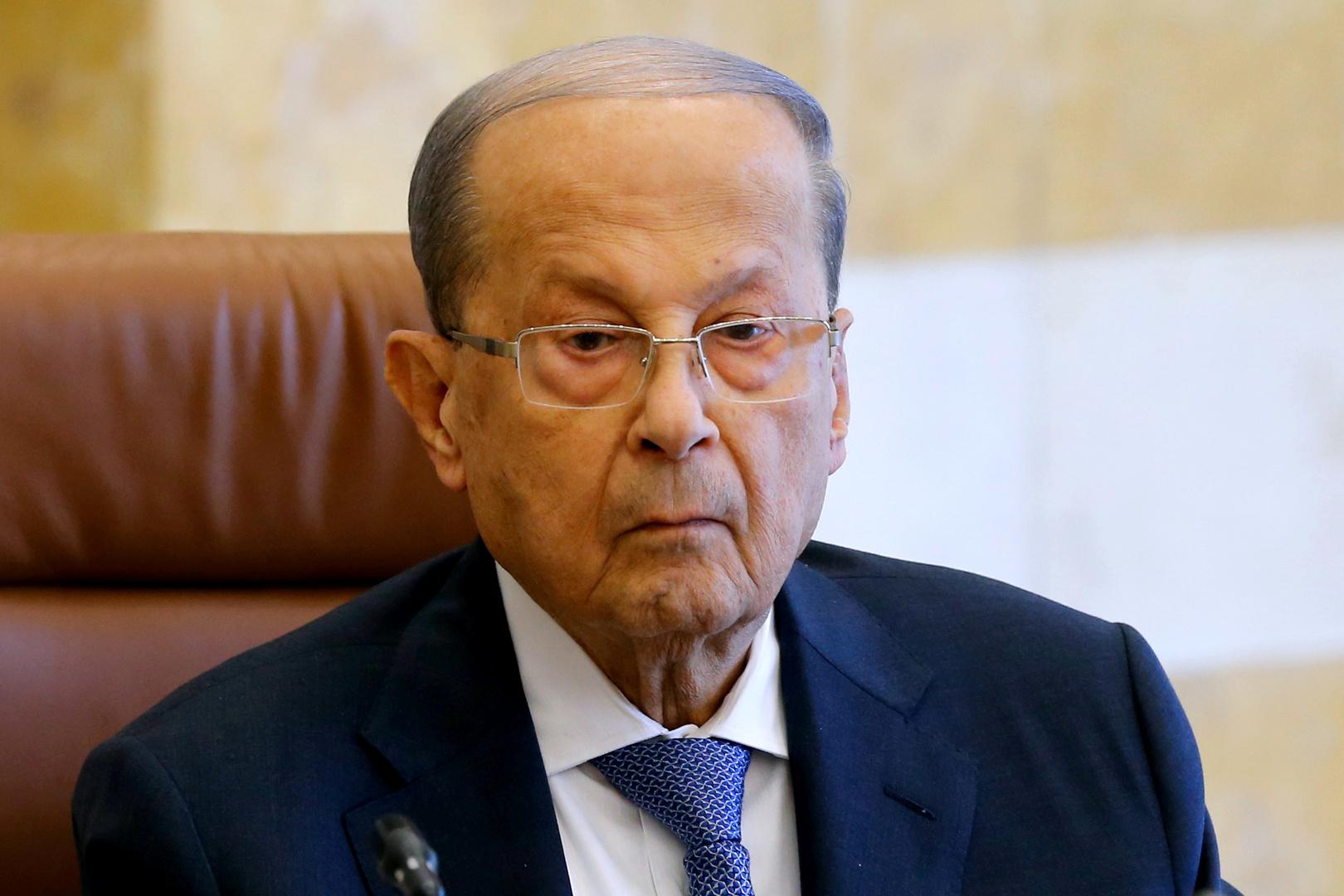الرئاسة اللبنانية توضح تصريح عون