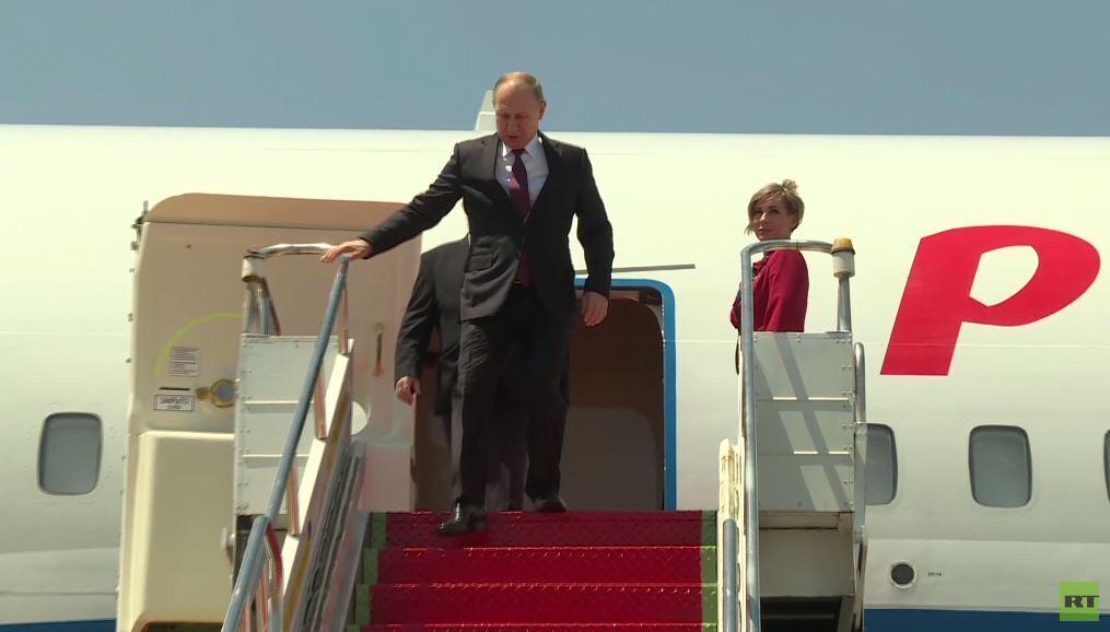 بوتين يصل إلى البرازيل لحضور قمة مجموعة