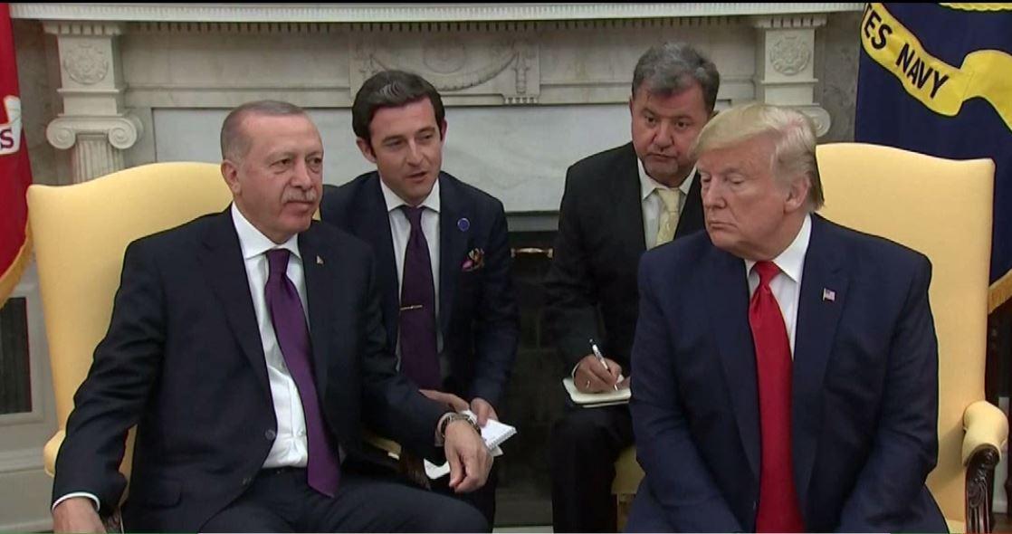 ترامب: أردوغان رجل محترم في المنطقة وعلاقاتنا مع تركيا جيدة