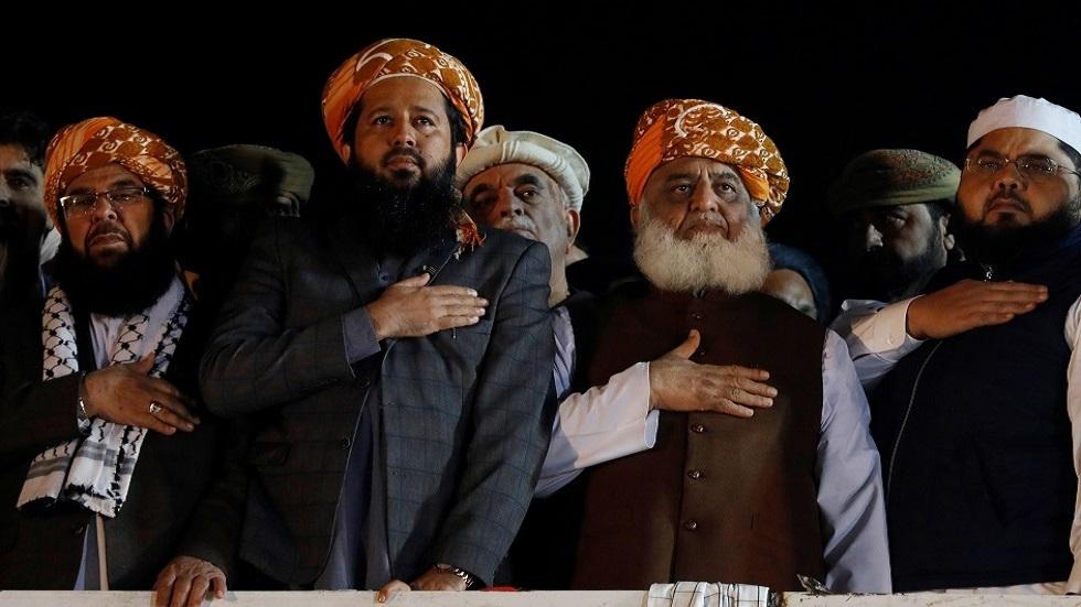 قادة الأحزاب المعارضة في باكستان