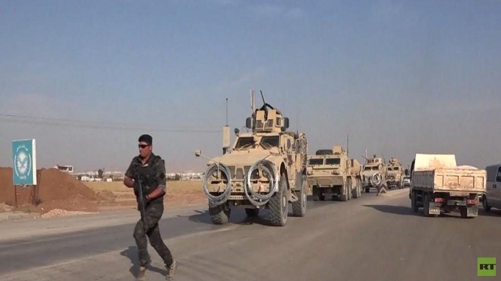 الجيش الأمريكي ينتشر غرب القامشلي