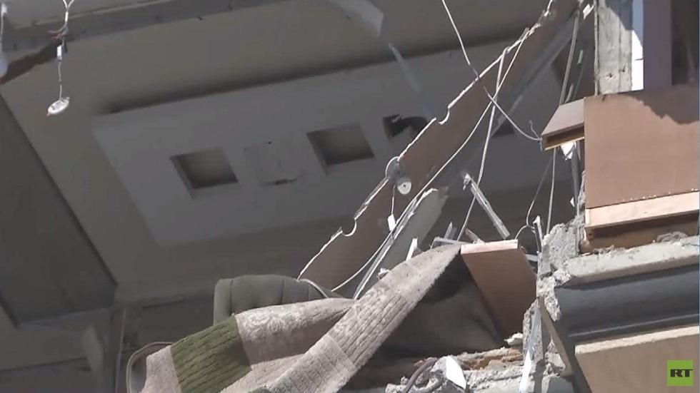 القصف الإسرائيلي يخلف قتلى ودمارا في غزة