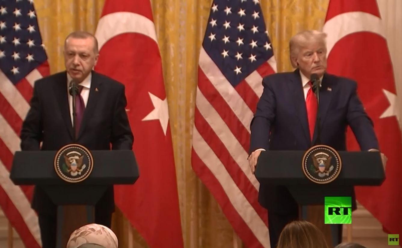 ترامب وأردوغان يعتزمان تجاوز الخلافات حول شراء تركيا لـ
