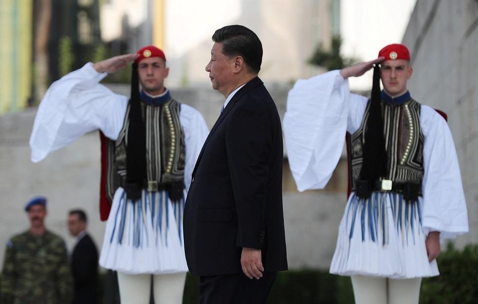 الرئيس الصيني شي جين بينغ، أثينا، اليونان، 11 نوفمبر 2019