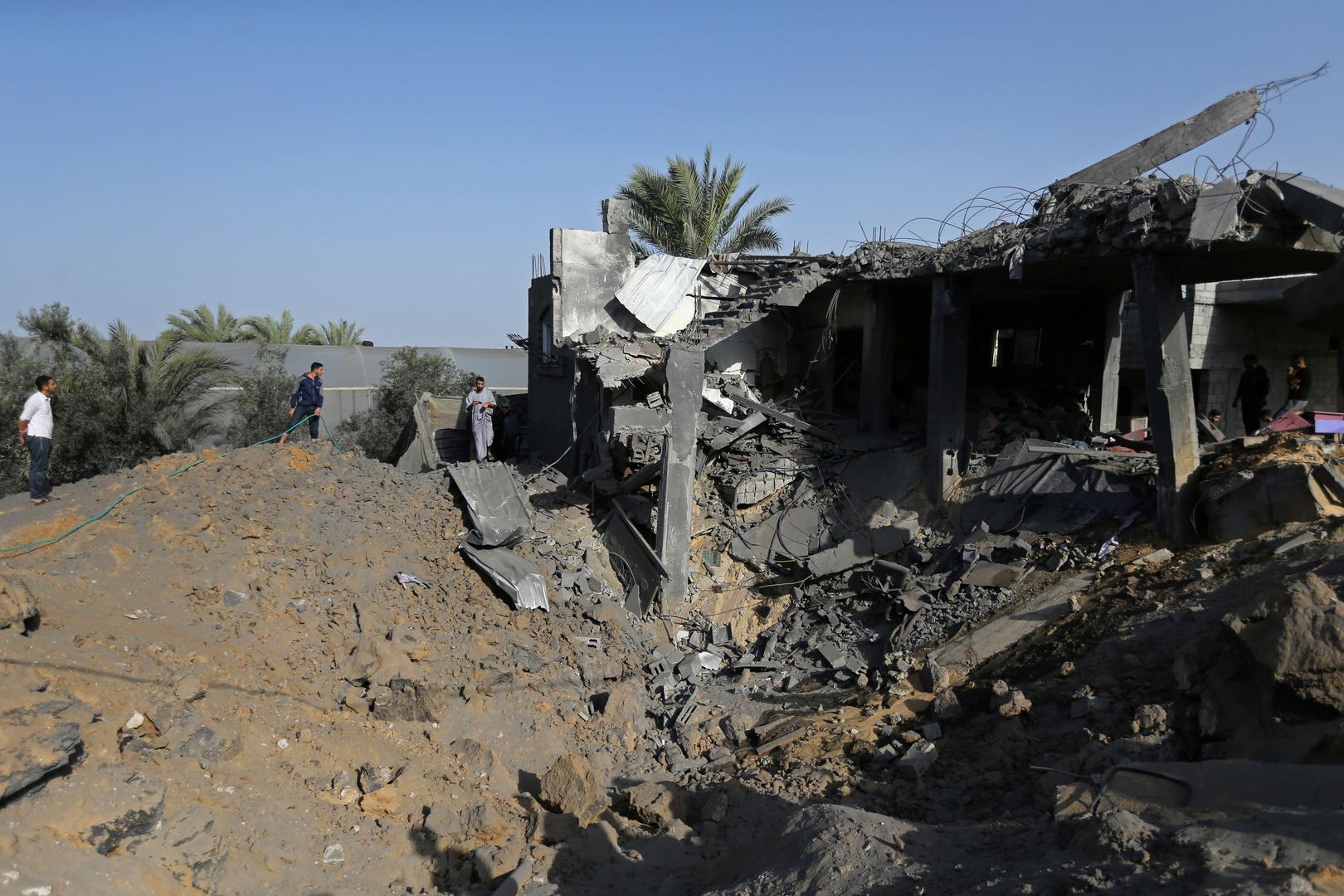 ارتفاع حصيلة ضحايا الغارات الإسرائيلية على غزة إلى 34 قتيلا و111 جريحا