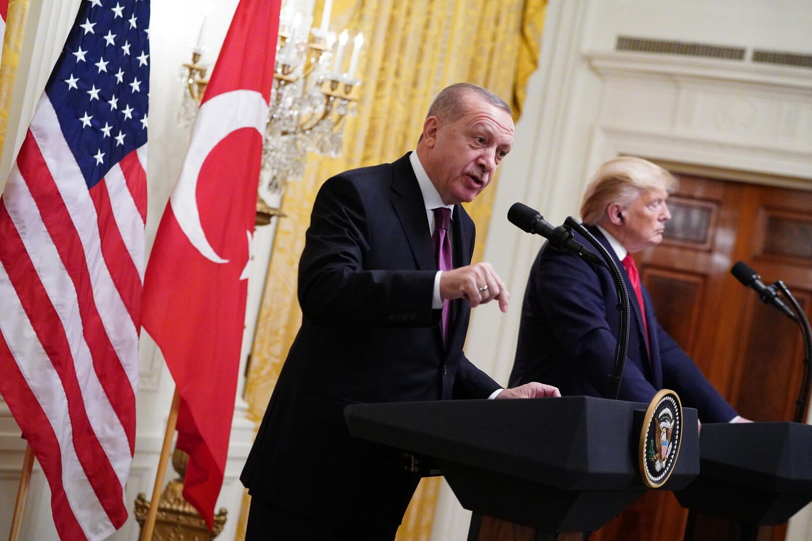أردوغان يتحدث عن ظلال تحجب علاقات بلاده بالولايات المتحدة!