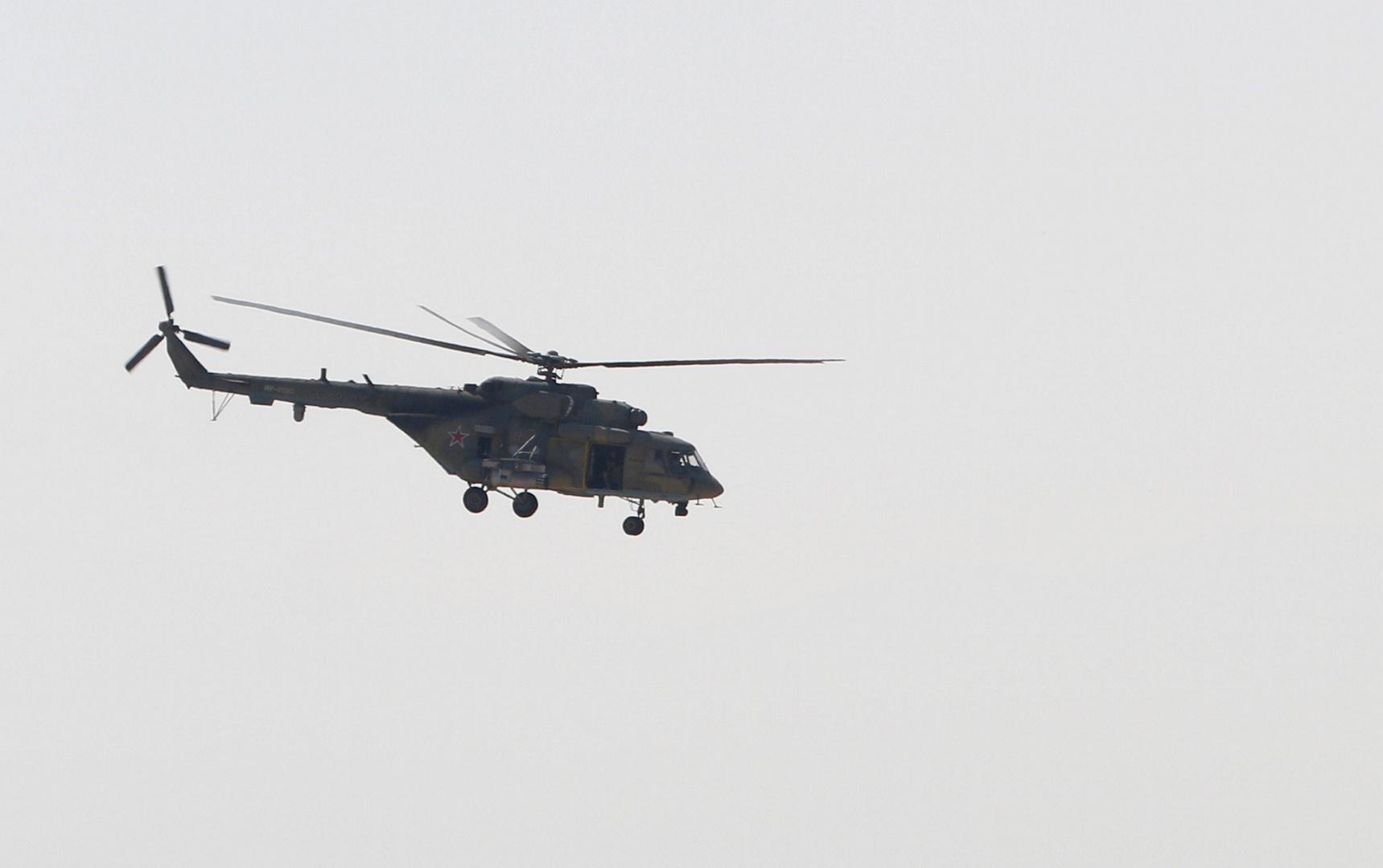 روسيا تنشر مروحيات ومنظومات دفاع جوي في مطار القامشلي شمالي سوريا