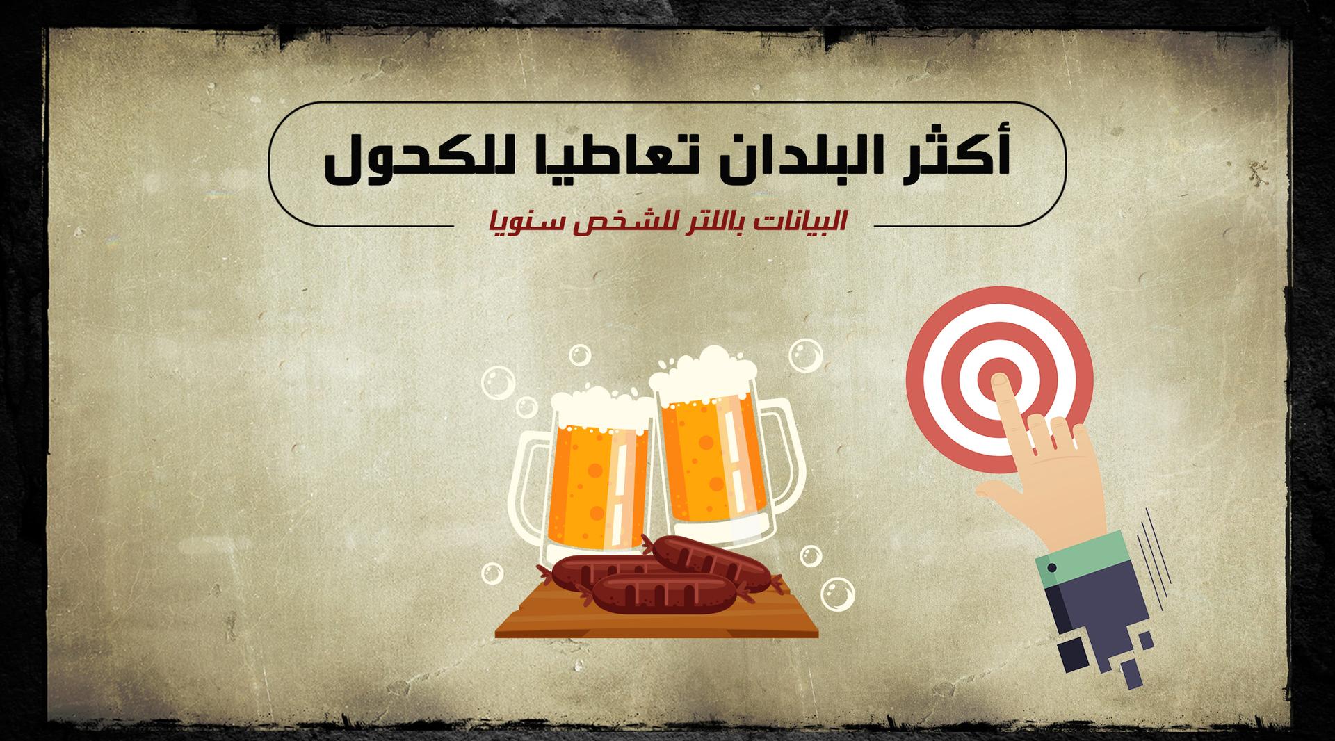 أكثر البلدان تعاطيا للكحول