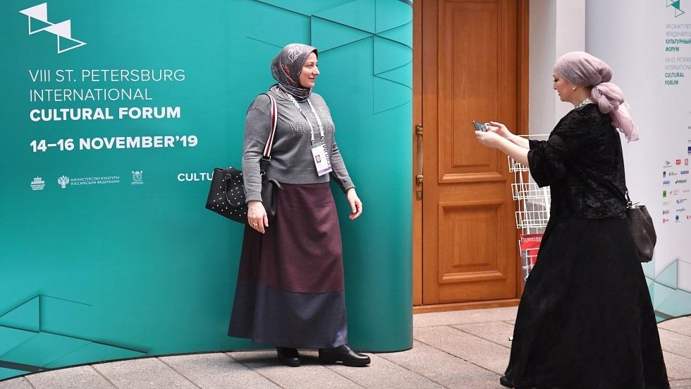 مشاركتان في منتدى بطرسبورغ الثقافي الثامن