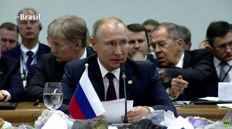 بوتين: على دول