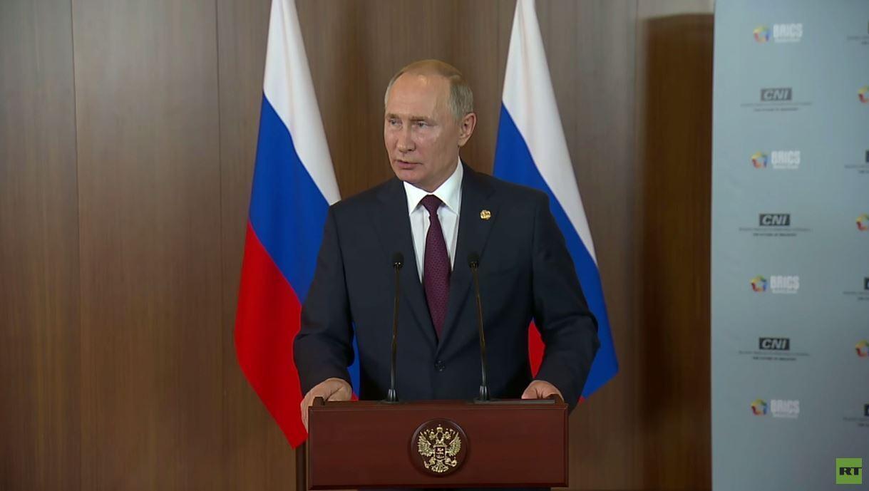 بوتين: الولايات المتحدة وترامب أسهما في الحرب على الإرهاب في سوريا