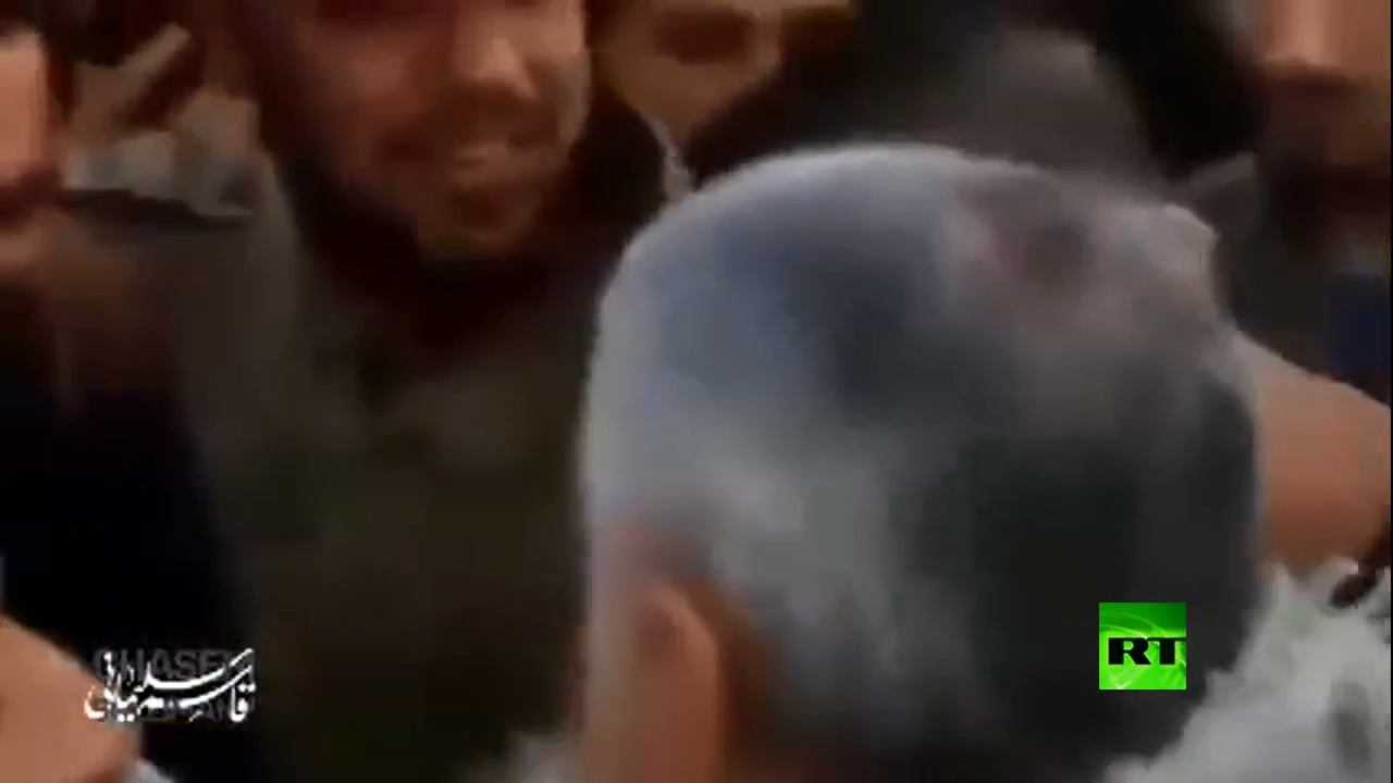 مقطع فيديو نادر لقائد فيلق القدس قاسم سليماني في سوريا
