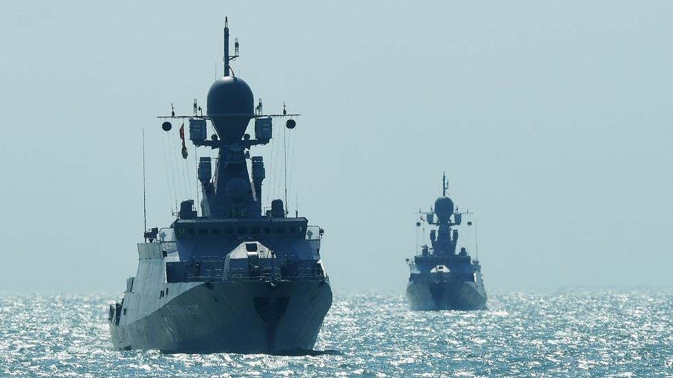 سفن تابعة لأسطول بحر قزوين