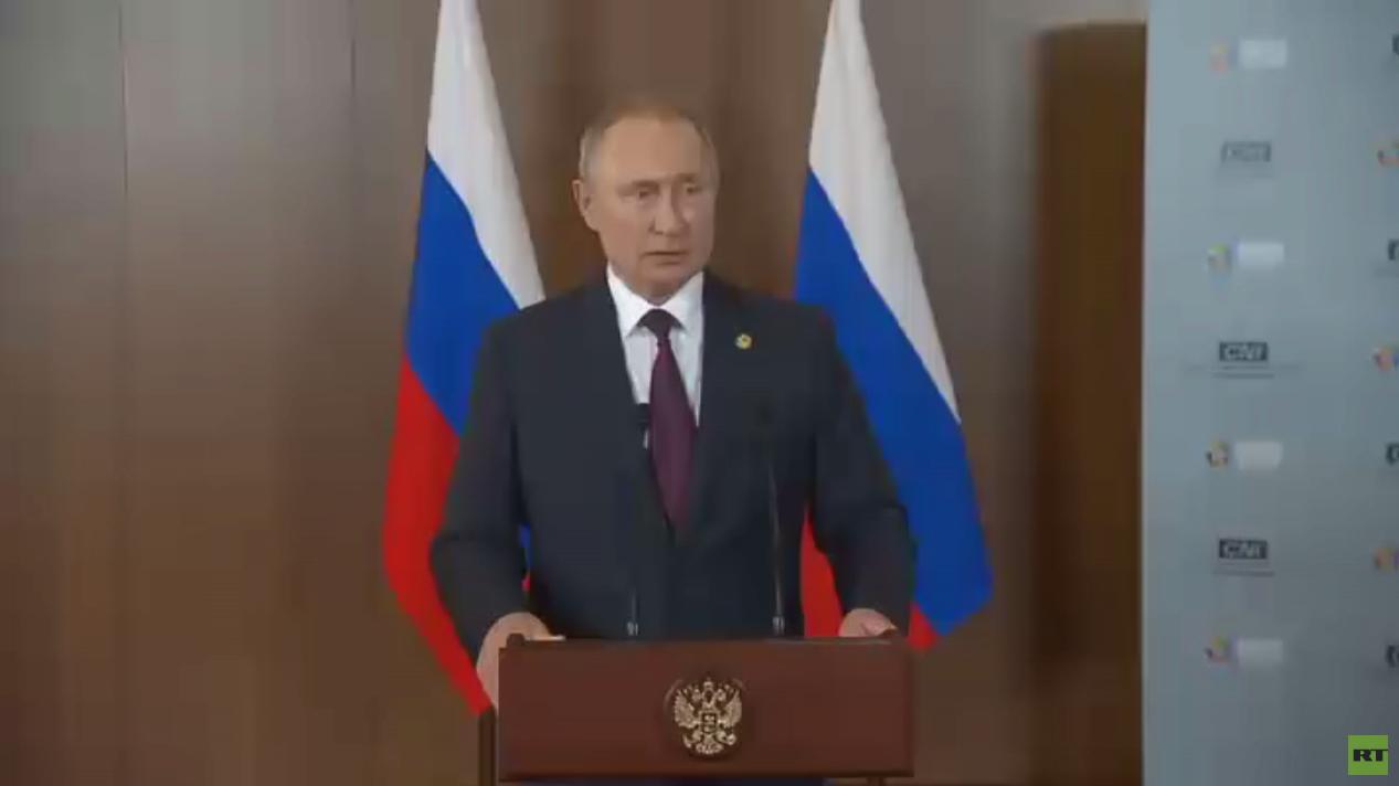بوتين: يجب ضم دول أخرى لمعاهدة الصواريخ
