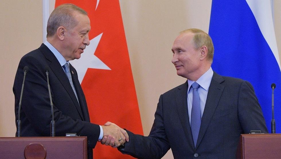 الرئاسة التركية: بوتين يخطط لزيارة تركيا خلال الأسبوع الأول من يناير