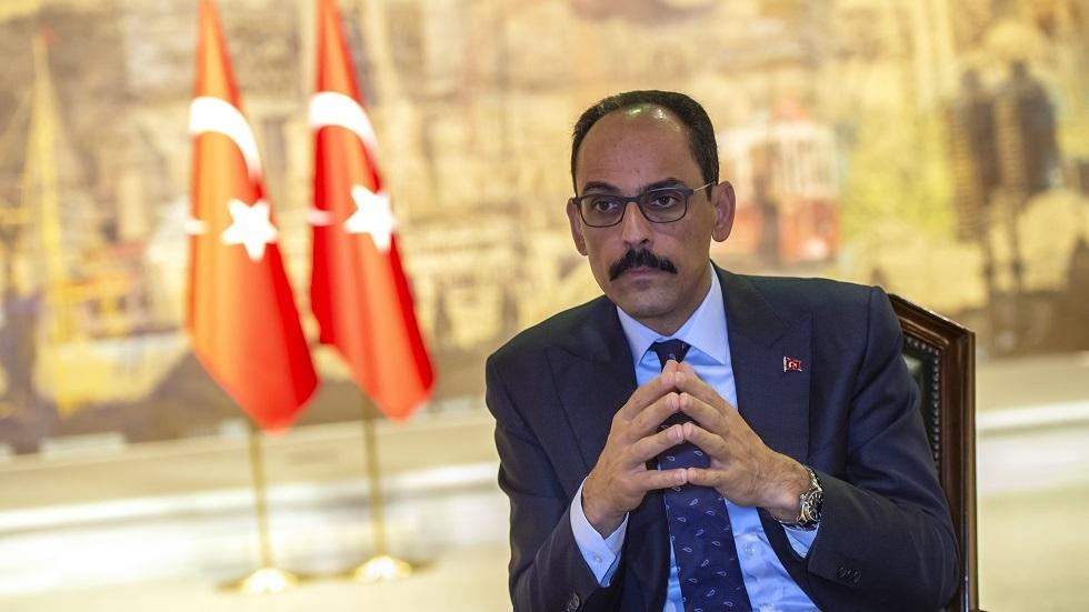 المتحدث باسم الرئاسة التركية إبراهيم قالين