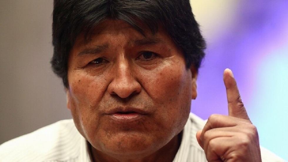 الرئيس السابق لبوليفيا، إيفو موراليس
