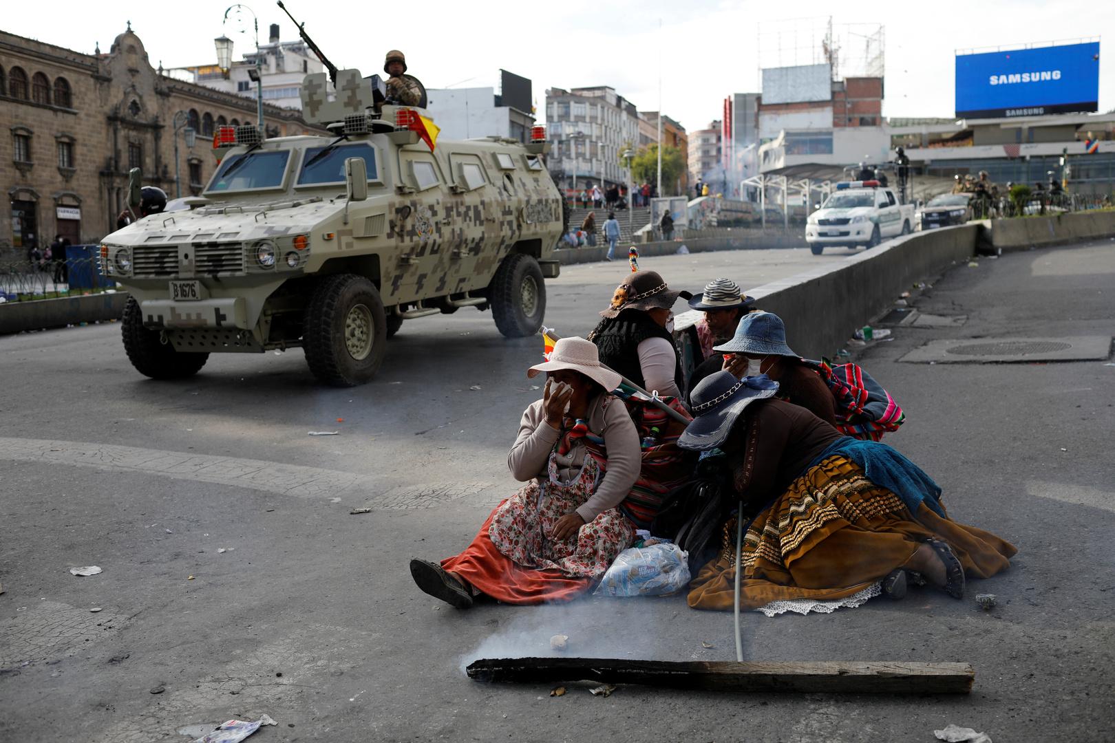 مقتل 5 مؤيدين للرئيس البوليفي السابق باشتباكات مع قوات الأمن