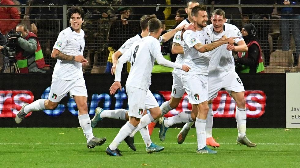 المنتخب الإيطالي يحقق رقما تاريخيا فريدا