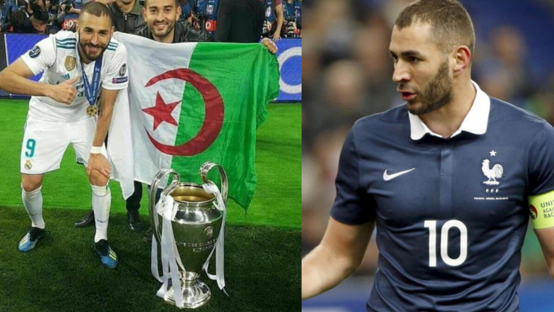 بعد أزمته مع منتخب فرنسا.. هل يحق لبنزيما اللعب في منتخب الجزائر؟