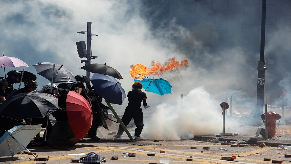 احتجاجات هونغ كونغ 17/11/2019